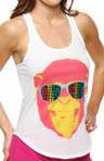 Steve Madden Sweat It Out Graphic Racerback Tank 470553