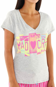 Steve Madden Tee Time Fitted Tee