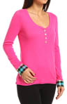 Steve Madden Winter Warmth Long Sleeve Henley 476662