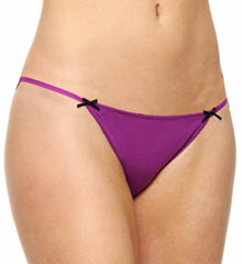 Steve Madden Wild Child Lace Back String Bikini Panty
