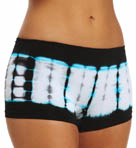 Steve Madden Killing It Tie Dye Band Boyshort Panty SM73001