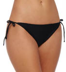 Black Tie Side Swim Bottom