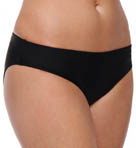 Black Basic Swim Bottom