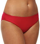 Sunsets Crimson Basic Swim Bottom 25BCC