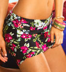 Sunsets Cool Breeze Shirred Swim Skirt 35BC