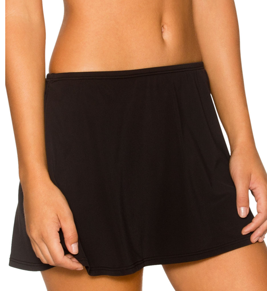 Sunsets Solid Contemporary Skirt Swim Bottom 36b Sunsets