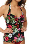 Sunsets Cool Breeze Underwire Halter Tankini Swim Top 52C