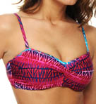 Day Break Underwire Twist Bandeau Swim Top