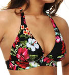 Cool Breeze Banded Halter Swim Top