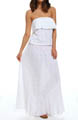Sunsets Coastal Crochet Maxi Dress CC908
