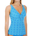 Hamptons Underwire Twist Tankini Swim Top Image