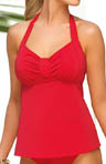 Ruby Underwire Halter Tankini Swim Top Image