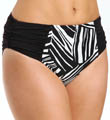 Sunsets River Bend Shirred High Waist Swim Bottom RB33B