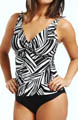 River Bend Underwire Twist Tankini Swim Top Image