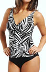 Sunsets River Bend Underwire Twist Tankini Swim Top RB77