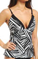 River Bend Contour Cup Tankini Swim Top Image