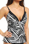 Sunsets River Bend Contour Cup Tankini Swim Top RB84T