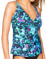 Sunsets Sea Glass Underwire Twist Tankini Swim Top SEGL77