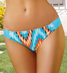 Sunsets Tidal Wave Side Shirred Swim Bottom TW20B