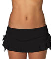 Onyx Flirty Skirted Swim Bottom Image