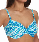 Swim Systems Pacific Falls Shirred Underwire Swim Top PAFA794