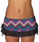 Swim Systems Rio Geo Flirty Skirted Swim Bottom RIGE286