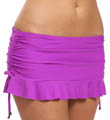 Ultraviolet Flirty Skirted Swim Bottom Image