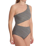 Aerin Rose Stanza Underwire Cut Out One Piece Swimsuit 160