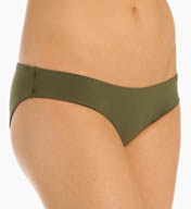 Aerin Rose Solids Low Rise Boy Brief Swim Bottom B470