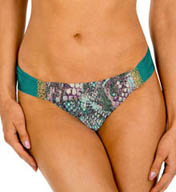 Aerin Rose Viper Ruched Back Hipster Swim Bottom VIPE401