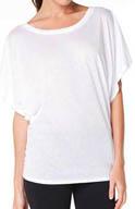 Alo Short Sleeve Loose Dolman Tee W1168R
