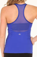 Alo Mesh Back Tank with Shelf Bra W2384R