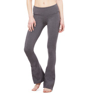 Alo Arroyo Heather Slim Pant with Flare Hem W5384SR