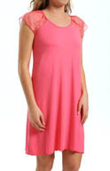 Amoena Daydream Lace Cap Sleeve Nightdress 1032