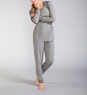 Amoena Ambience Long Sleeve and Pant Pajama Set 1135