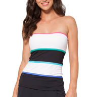 Anne Cole Color Block Bandini Swim Top 15MT226