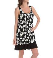 Anne Klein Black & White Chemise 8010382