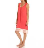 Anne Klein Coral Sleeveless Ballet Gown 8010385