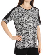 Anne Klein Smart Chic Dri Release Short Sleeve Top 8410428