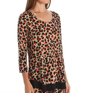 Anne Klein Keeping It Cool 3/4 Sleeve Top 8410452