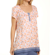 Anne Klein Spring Forward Short Sleeve Top 8510432