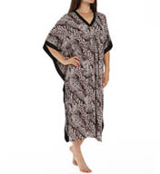 Anne Klein Animal Long Caftan 8910409