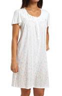 Aria Sweet Temptations Cap Sleeve Short Nightgown 8014808