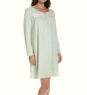 Aria Dreams Long Sleeve Short Nightgown 8014917