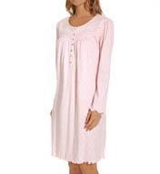 Aria Lullabies Long Sleeve Short Nightgown 8014918