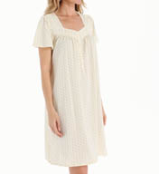 Aria Sunshine Short Sleeve Short Nightgown 8014919