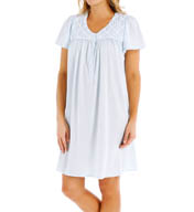 Aria Jersey Short Sleeve Short Nightgown 8014930