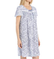 Aria Day Into Night Short Sleeve Short Nightgown 8014961