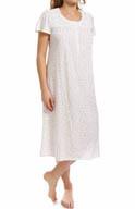 Aria Vintage Romance Short Sleeve Ballet Nightgown 8214823