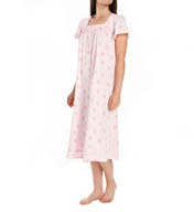 Aria Printed Soft Jersey Ballet Cap Sleeve Nightgown 8214873